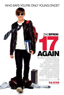 17 Again movie dvd video