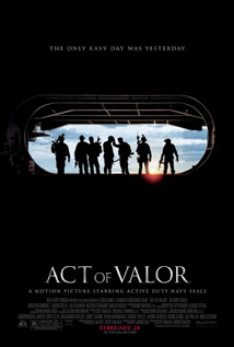 Act of Valor movie video dvd