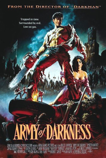 Army of Darkness movie video dvd