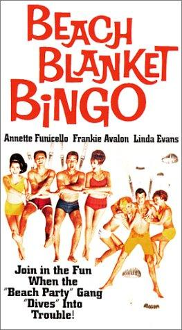 Beach Blanket Bingo movie dvd video