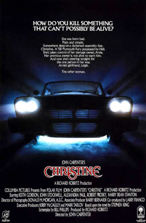 Christine movie video dvd