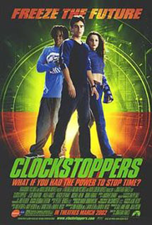 Clockstoppers movie video dvd