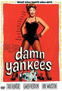 Damn Yankees Queen movie dvd video