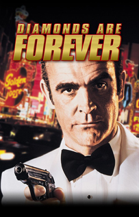 Diamonds Are Forever movie video dvd