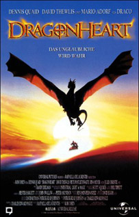 Dragonheart movie dvd video