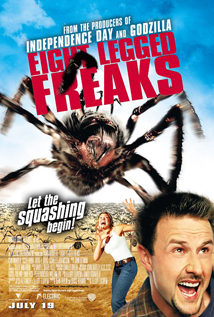 Eight Legged Freaks dvd video movie