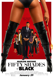 Fifty Shades of Black movie dvd video
