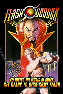 Flash Gordon dvd video movie