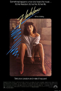 Flashdance dvd movie video