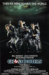 Ghostbusters comedy fantasy sci-fi dvd movie video