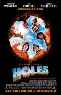 Holes movie video dvd