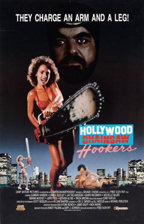 Hollywood Chainsaw Hookers movie dvd video