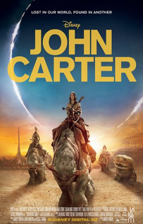 John Carter movie dvd video