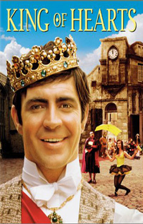 King of Hearts video dvd