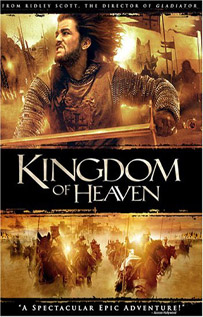 Kingdom of Heaven movie dvd video
