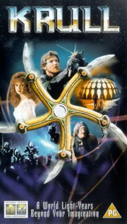 Krull video movie dvd