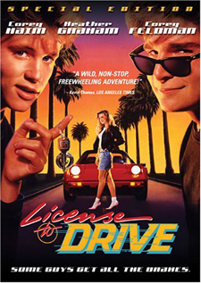 License to Drive movie dvd video
