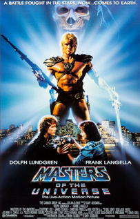 Masters of the Universe video movie dvd