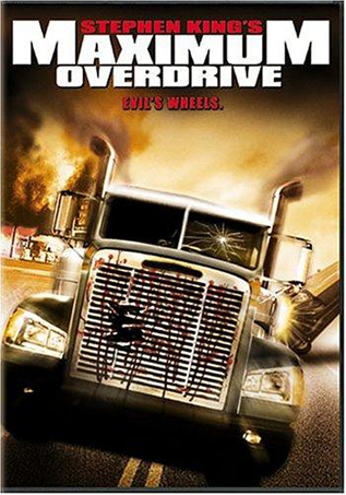 Maximum Overdrive movie video dvd