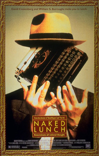 Naked Lunch dvd movie video