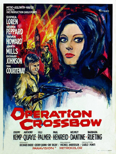 Operation Crossbow movie video dvd
