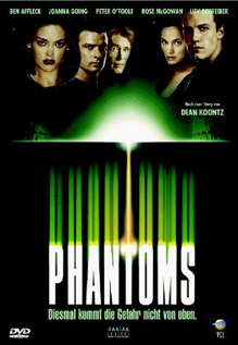 Phantoms movie dvd video