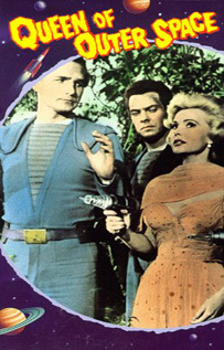 Queen of Outer Space video movie dvd