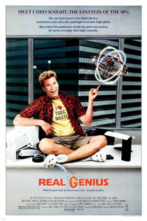 Real Genius movie video dvd