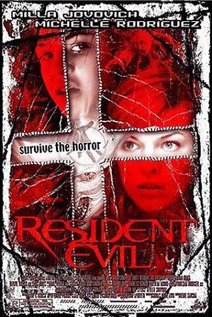 Resident Evil movie video dvd