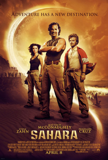 Sahara movie video dvd