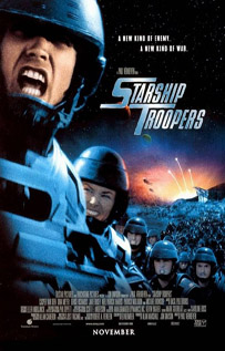 Starship Troopers movie video dvd