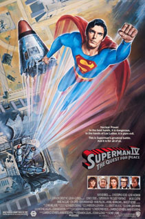 Superman IV: The Quest for Peace movie dvd video
