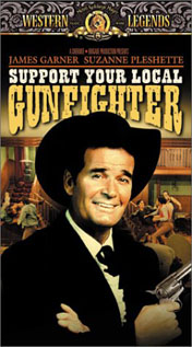 Support Your Local Gunfighter video movie dvd