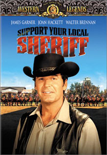 Support Your Local Sheriff dvd video