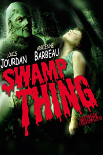 Swamp Thing movie video dvd