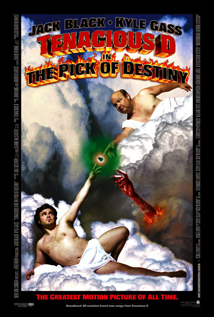 Tenacious D in The Pick of Destiny movie dvd video