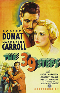 The 39 Steps movie video dvd