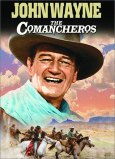 The Comancheros movie video dvd