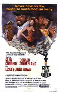 The Great Train Robbery video dvd movie