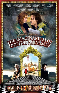 The Imaginarium of Doctor Parnassus video dvd movie