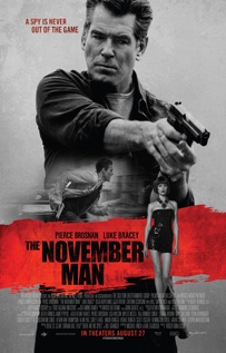 The November Man movie video dvd