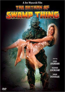 The Return of Swamp Thing dvd movie video