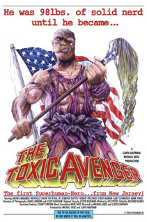The Toxic Avenger dvd video movie