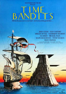 Time Bandits movie dvd video