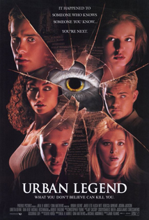 Urban Legend movie dvd video