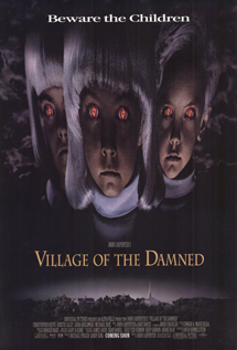 Village of the Damned movie video dvd