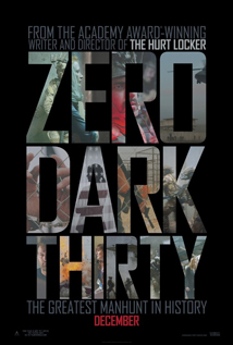 Zero Dark Thirty movie video dvd
