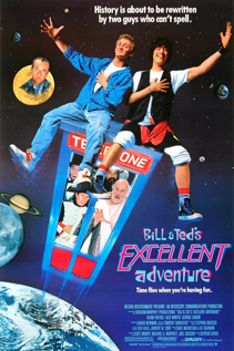 Bill and Ted's Excellent Adventure dvd movie video