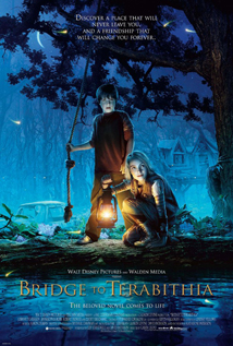 Bridge to Terabithia movie dvd video