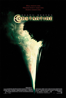Constantine dvd movie video